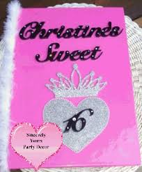 sweet 16 sign in book image detail for custom sign in books for your sweet 16 mitzvah