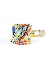 Amazing Mugs by Splatter Mug Large Short X Peter Shire The Third Row