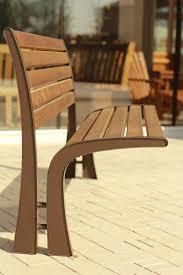 Modern Metal Outdoor Furniture Victoria Garden Bench Modern Metal With Wood U2026 Furniture