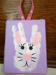 20 egg citing easter crafts made with handprints footprints