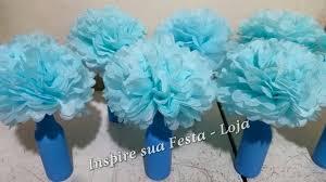 Top Como fazer Pompom de papel de seda – Passo a Passo – Inspire sua  @KW27