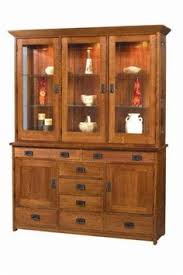 mission style china cabinet amish furniture the difference between shaker and mission styles