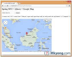 ip address map mvc find location ip address jquery map