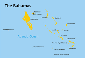bahamas map the bahamas map showing attractions accommodation