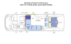 Conversion Van Floor Plans Becker Automotive Design Luxury Transport Coaches Sprinter