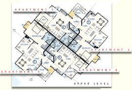 Unique Apartment Design Plan For Apartments  Bedroom With - Apartments plans designs