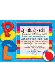 pool party invitations party invitations theme party invitations pool party