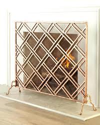 modern fireplace screen candice olson best screens glass