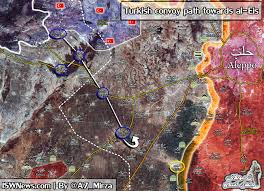 Map Of Syria And Russia Unrolled Thread From A7 Mirza Aleppo Syria حلب Russia