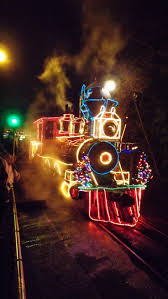 christmas lights train ride 144 best holliday trains images on pinterest train trains and