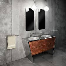 Metal Bathroom Vanity by Sleek U0026 Stylish Bathrooms By Componendo Freshome Com