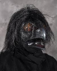 crow mask halloween dark raven demon monster crow bird halloween mask moves with