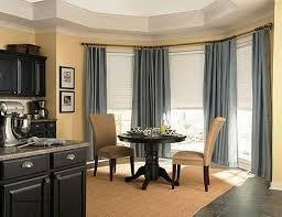 Dining Room Window Treatment Ideas Dining Room Bay Window Curtain Ideas Awesome Dining Room Bay