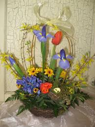 forsythia arrangements from balancingmama elegant flower