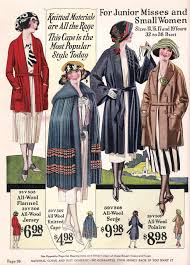 teenage girls fashion in the 1920s 1920s fashion and cloaks