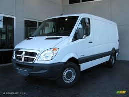2008 arctic white dodge sprinter van 2500 cargo 7691965