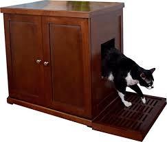 Kitty Litter Bench Cool Cat Tree Plans Cat Litter Box Furniture