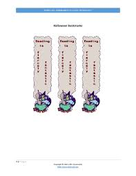 halloween printable bookmarks john u0027s esl community holidays halloween