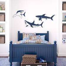 Ocean Wall Decals For Nursery by Shark Trio Wall Decal Shark Decal Shark Wall Sticker Shark