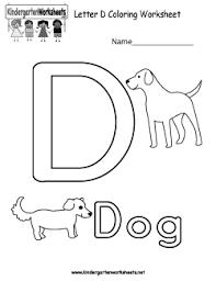 free kindergarten alphabet worksheets learning the basics