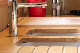 cuisine plan de travail bois massif plans de travail ecologie design