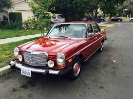 mercedes 300d for sale mercedes 200 series sedan 1976 burgundy for sale