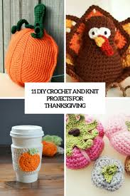 11 diy crochet and knit projects for thanksgiving shelterness