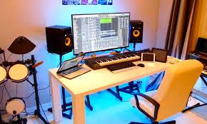 Home Recording Studio Desks by New Home Recording Studio Tour 2015 Youtube