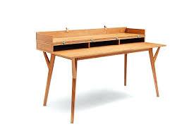 bureau en bois design etagere bureau design wooden metal design desk mango avec