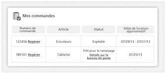 heure d ouverture bureau de poste canada faire le suivi des achats sur le site du commerçant services web