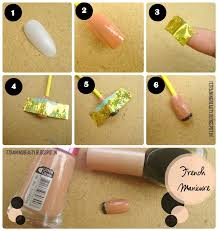 easy nail polish designs with tape
