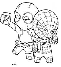 simple spiderman drawing free coloring pages spiderman printable
