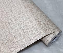 faux grasscloth peel stick wallpaper khaki linen self adhesive