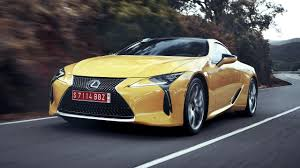 lexus coupe drop top lexus lc review top gear