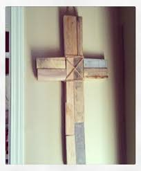 wooden craft crosses pallets made wooden crosses pallet ideas recycled upcycled