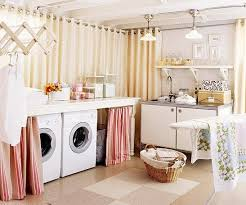 Laundry Room Curtain Decor Golden Yellow Laundry Room Curtains For Curtain Divider