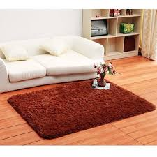 brown shag area rugs interior design