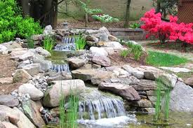 Backyard Pondless Waterfalls by 3 Ideas For Small Backyard Water Features Premier Ponds Dc Md