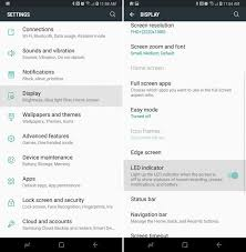 What Does A Flashing Yellow Light Mean How To Turn Off The Galaxy S8 Notification Light