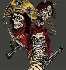 vector t shirt design with skull gun and vector