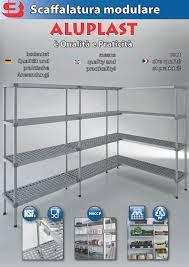 scaffali prezzo scaffali aluplast scaffalatura modulare in alluminio e plastica