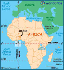 map of benin map geography of benin map of benin worldatlas