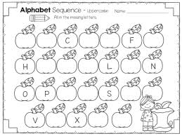 practice alphabet check out this pack of fall themed alphabet sequencing