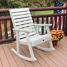 plastic outdoor rocking chairs recycled plastic rocking chair