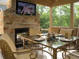 covered patio with fireplace covered patio fireplace ideas