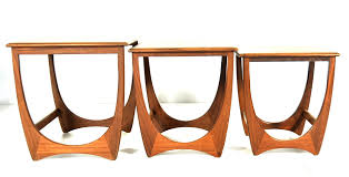 astro series nesting tables from g plan set of 3 for sale at pamono