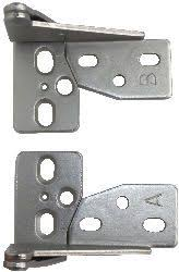 Pin Hinges For Cabinet Doors Blum One Compact Hinges With Built In Blumotion 1 2 Overlay