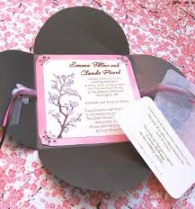 cherry blossom wedding invitations asian cherry blossom invitations