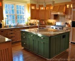 colorful kitchen islands best 25 painted island ideas on blue kitchen island