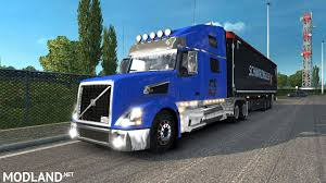 trak volvo volvo vnl truck shop v1 3 1 27 templates mod for ets 2